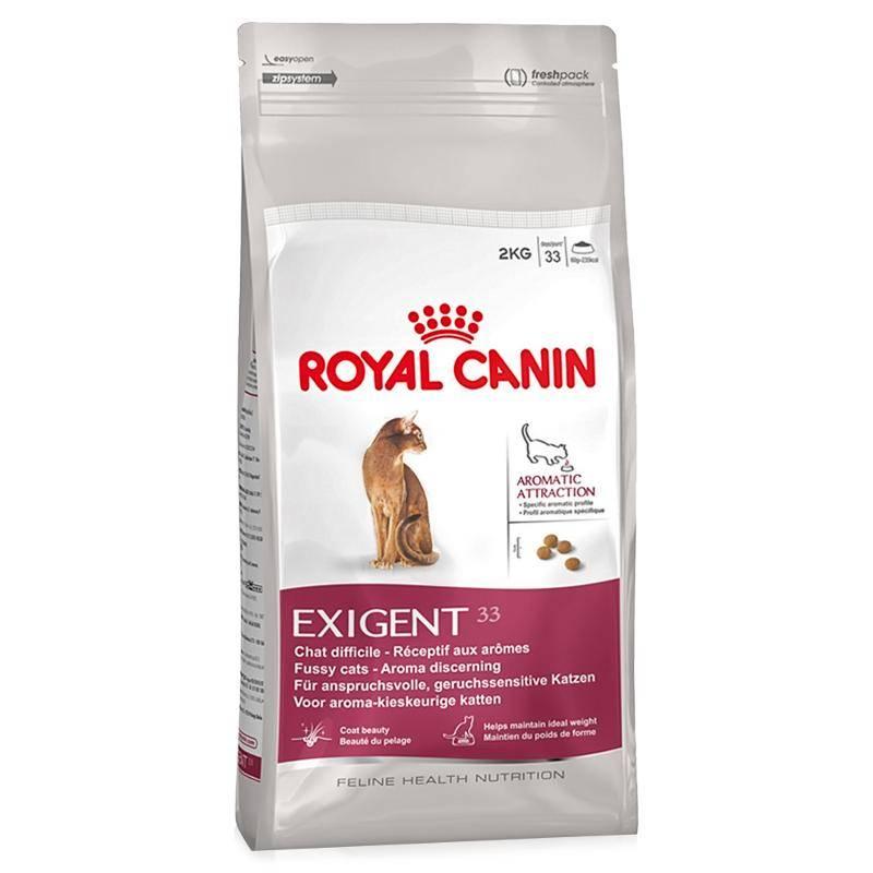 Exigent aromatic корм royal canin