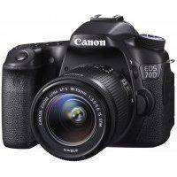 Зеркальный фотоаппарат Canon EOS 70D Kit EF-S 18-55 IS