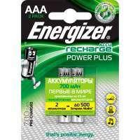 Аккумулятор Energizer Power Plus AAA 700mAh FSB2 2шт. (E300626500) серебристый