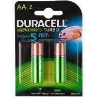 Аккумулятор Duracell AА HR6-2BL 2400mAh/2500mAh Turbo 2шт. предзаряж.