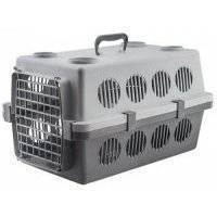 Переноска для кошек и собак Darell для животных ПЕГАС №3 до 15кг серый 61х40х36 см