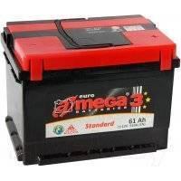Автомобильный аккумулятор A-mega Standard 61 R (61 А/ч)