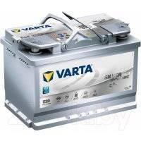 Автомобильный аккумулятор Varta Silver Dynamik AGM