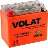 Мотоаккумулятор VOLAT YTX12-BS iGEL L+