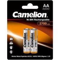 Аккумулятор Camelion AA 2700mAh Ni-Mh BL-2
