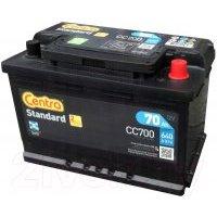Автомобильный аккумулятор Centra Standard R+ / CC700