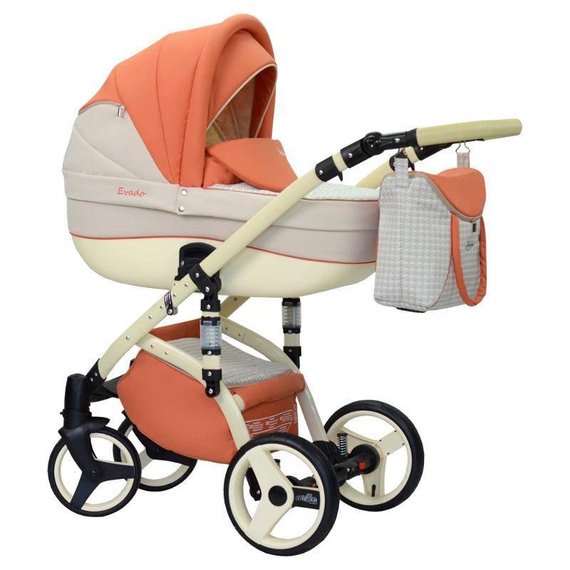 Типы колясок для новорожденных