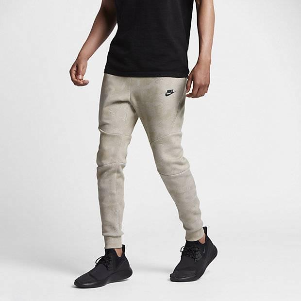 9ffd8b2d Мужские брюки Nike Tech Fleece Jogger (Хаки) (836416-235) купить за ...