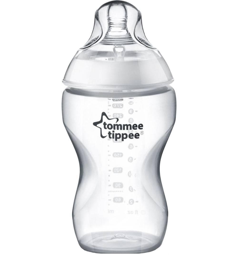 Бутылочка Tommee Tippee 260ml (3шт) с антиколиковым клапаном 42253041