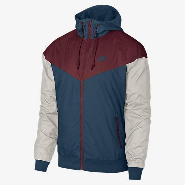 9df94715 Мужская куртка Nike Sportswear Windrunner (Синий) (727324-475 ...